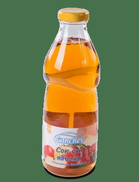 Ганчев Бебешки сок от ябълки 750 мл.